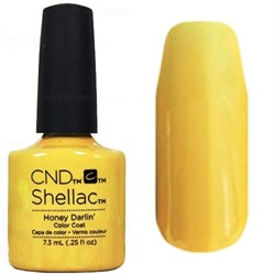 Гель лаки CND Shellac цвет Honey Darlin - фото 3546488