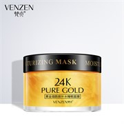 Маска для лица Venzen 24K Pure Gold Moisturizig Mask 120ml