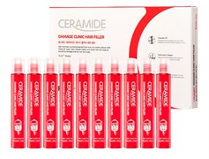 Филлер для волос Farmstay Ceramide Damage Clinic Hair Filler 10шт*13 ml  с керамидами