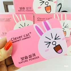 Тройная пудра Clever Cat Facefinty Compact - фото 3529279