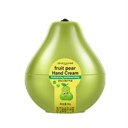 Крем для рук  Bioaqua Fruit Pear Hand Cream 30 g с ароматом груши - фото 3536608