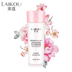 Тонер для лица Laikou Freshing Flowers Astringent 125 ml - фото 3541640