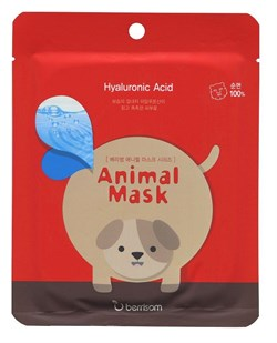 Тканевая маска Berrisom Animal Mask Series Dog 25ml - фото 3559569
