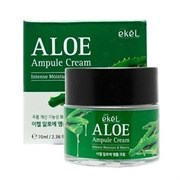 Крем для лица Ekel Aloe Ampule Cream 70мл