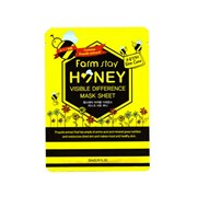 Тканевая маска Farm Stay Visible Difference Mask Sheet Honey  23 ml мёд
