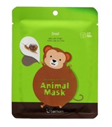 Тканевая маска Berrisom Animal Mask Series Monkey 25ml
