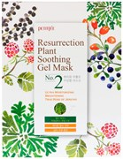 Тканевая маска Petitfee Resurrection plant soothing gel mask 30ml