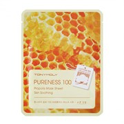 Тканевая маска для лица Tony Moly Pureness 100 Propolis Mask Sheet 30ml Прополис