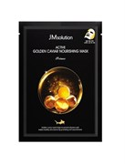 Тканевая маска JMsolution Active Golden Caviar Nourishing Prime Mask 30ml