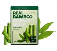 Тканевая маска Farm Stay Real Bamboo Essence Mask 23ml