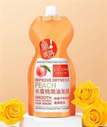 Маска для волос Exgyan Improve Dryness Peach Smooth Baked Oitment Hair Mask 500ml